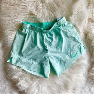 Nike dri-fit nylon lined shorts